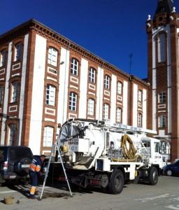 Rehabilitación de tuberías en el Hospital de León