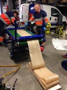 Rehabilitación de tuberías con manga en Andorra